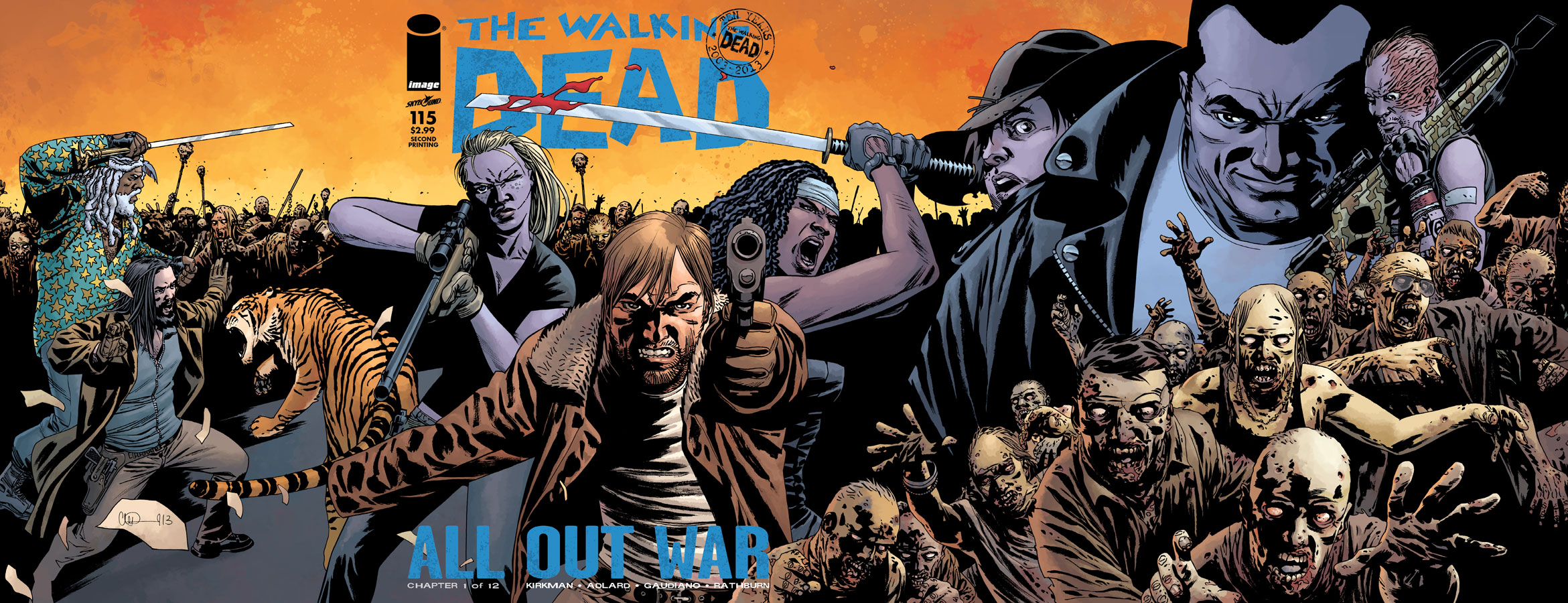 The Walking Dead All Comics