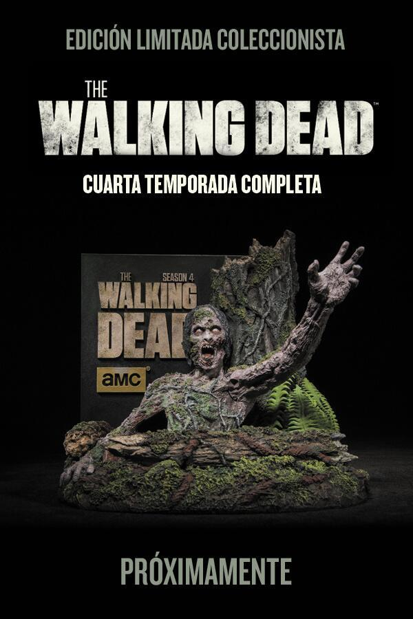 The walking dead cuarta temporada blu ray
